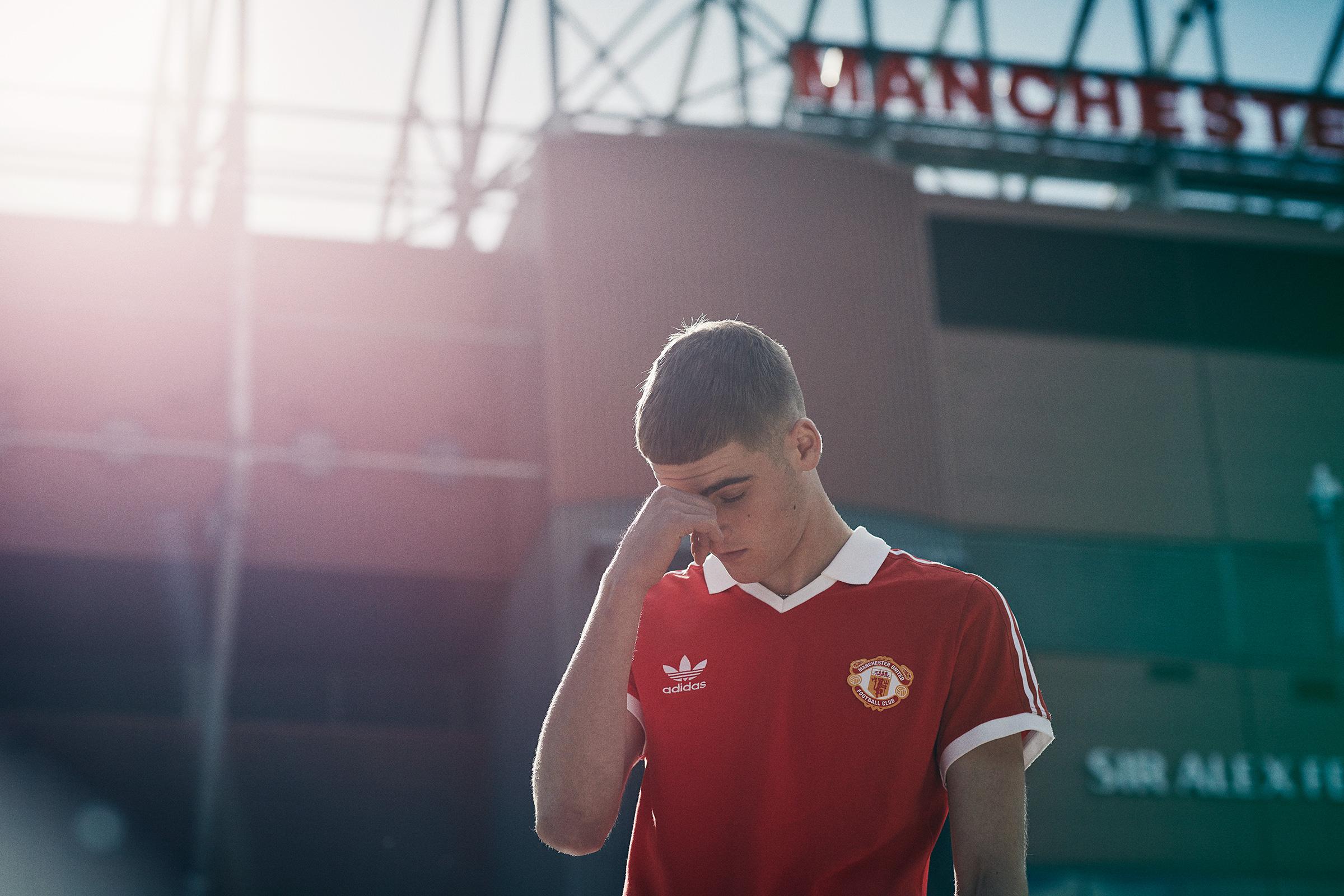 ollyburn.com Adidas Originals </br> X </br> Manchester United